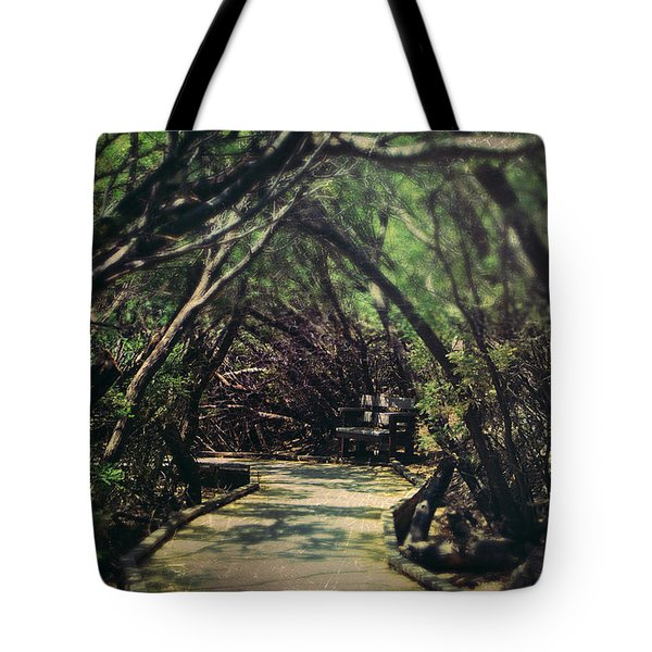 A Place to Hide Away Tote Bag by Laurie Search