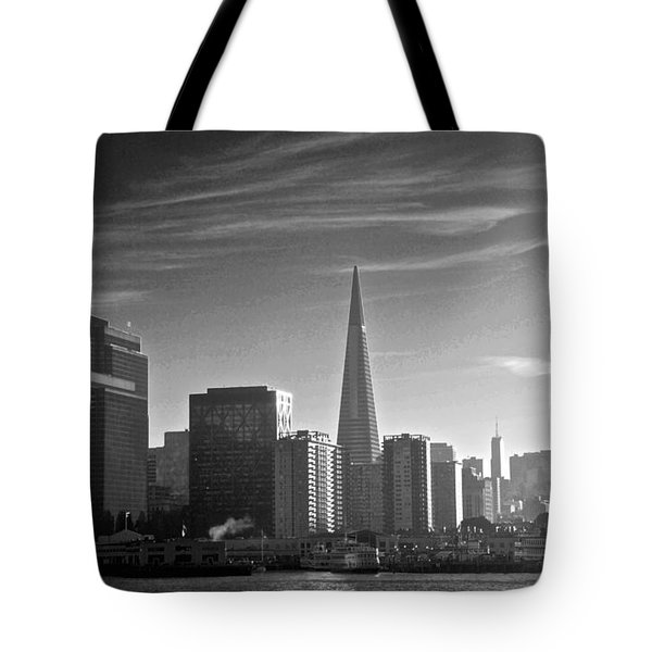 A Place To Leave Your Heart Tote Bag by Eric Tressler