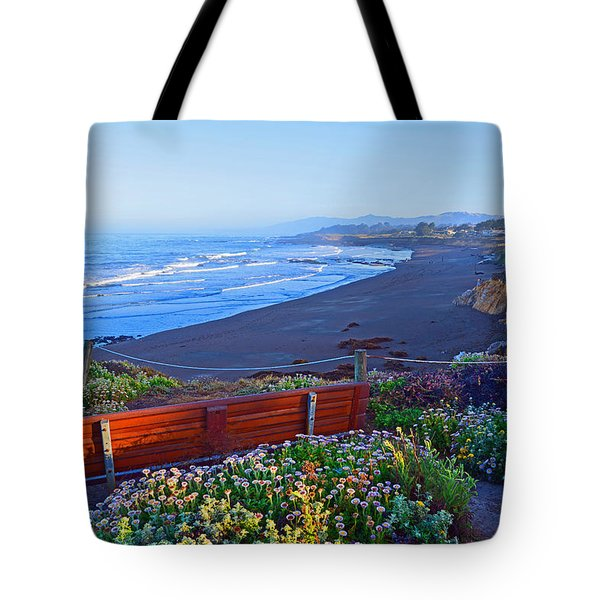 A Place To Reflect Tote Bag by Lynn Bauer