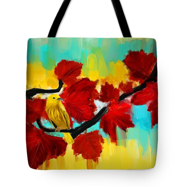 A Ponder Tote Bag by Lourry Legarde