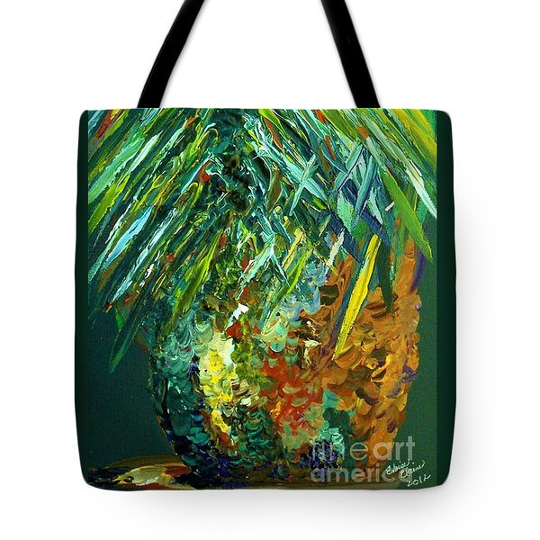 A Poppin Pineapple Tote Bag by Eloise Schneider