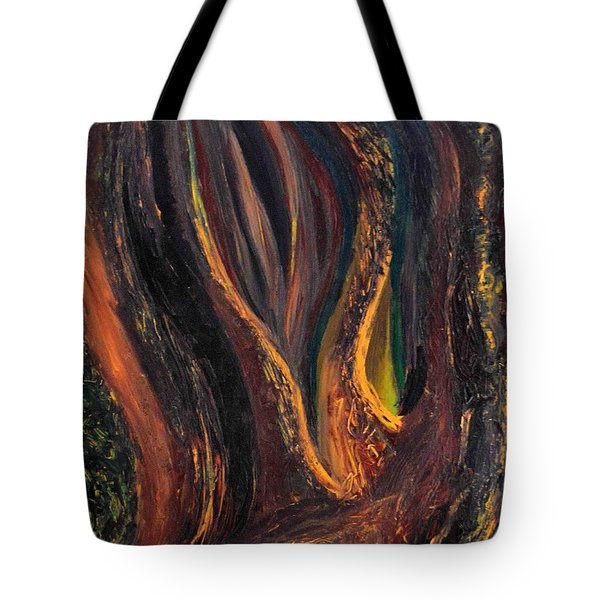 A Radiant Heart Light Tote Bag by Daina White