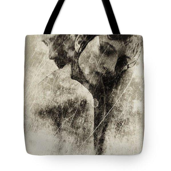 A Rainy Day We Need Closeness Tote Bag by Gun Legler