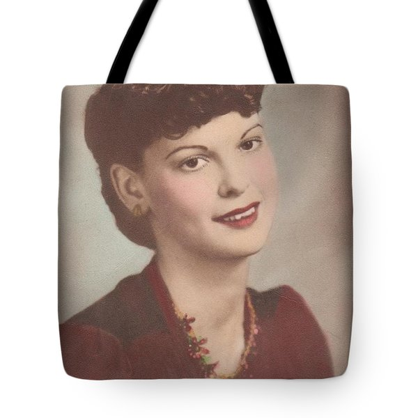 A Real Lady Tote Bag by Donna Wilson