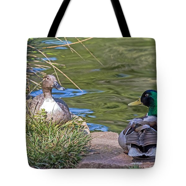 A Restful Moment Tote Bag by Kate Brown