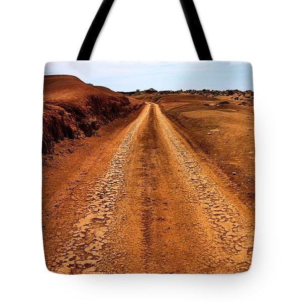 A Road Less Traveled Tote Bag by DJ Florek