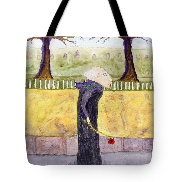 A Rose For My Dear Tote Bag by Jim Taylor