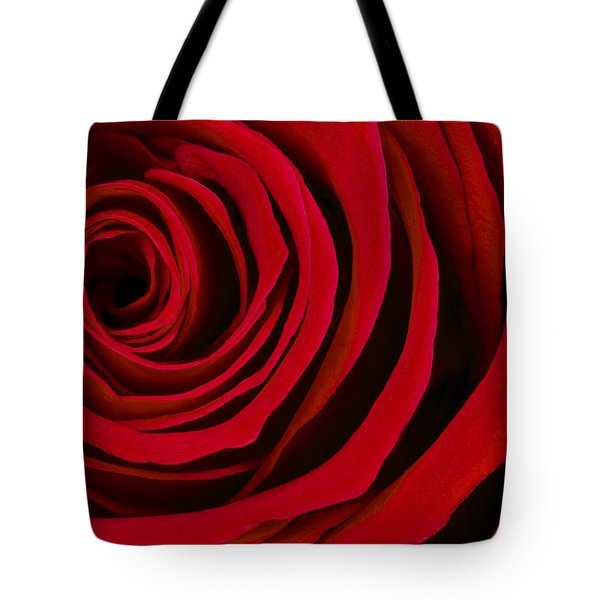 A Rose For Valentine's Day Tote Bag by Adam Romanowicz