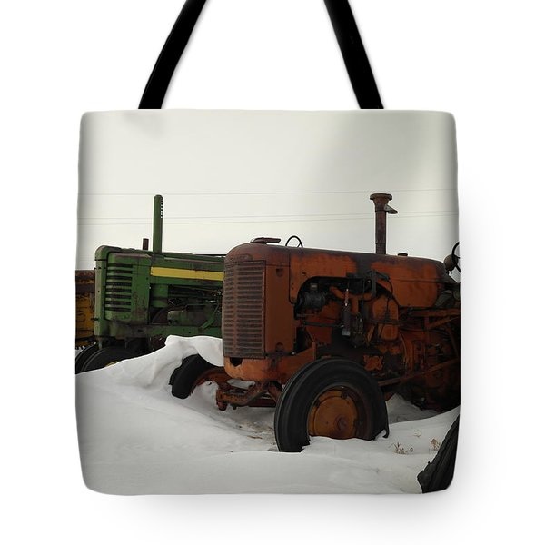 A Row Of Relics Tote Bag by Jeff Swan