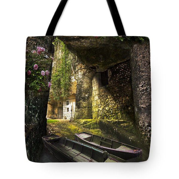 A Secret Place Tote Bag by Debra and Dave Vanderlaan