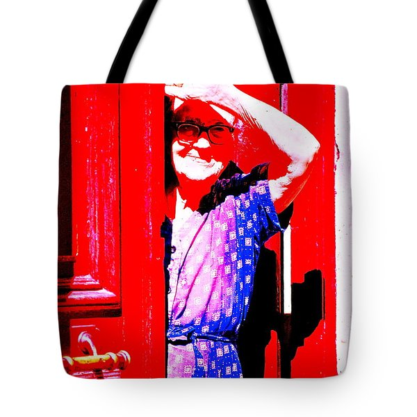 A Senior Moment Tote Bag by Ira Shander
