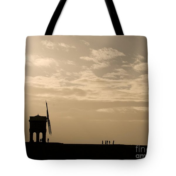 A Sense Of Perspective Tote Bag by Anne Gilbert