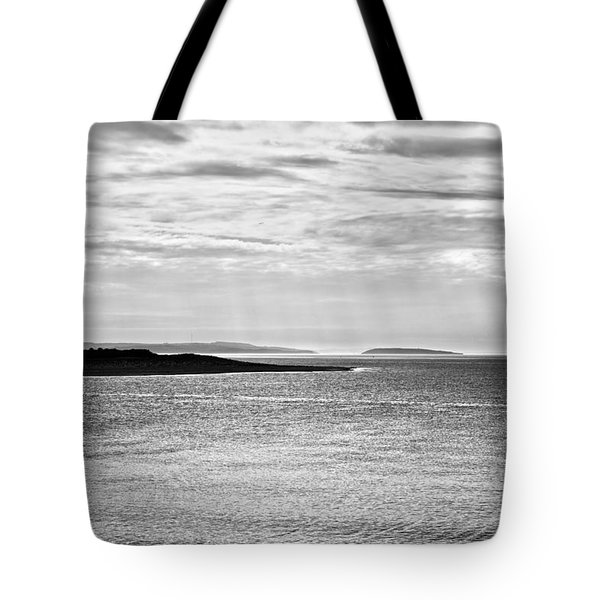A Simple Welsh Coast Tote Bag by Georgia Fowler