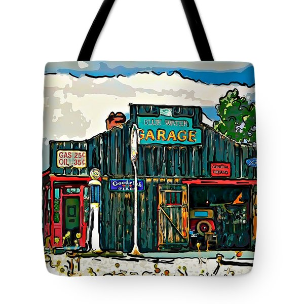 A Simpler Time 4 Tote Bag by Steve Harrington
