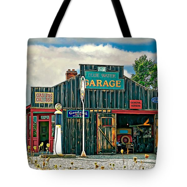 A Simpler Time Tote Bag by Steve Harrington