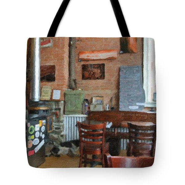 A Small Town Brewing Company Tote Bag by Image Takers Photography LLC - Carol Haddon