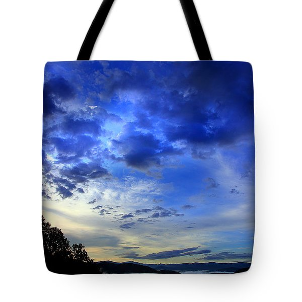A Smoky Mountain Dawn Tote Bag by Michael Eingle