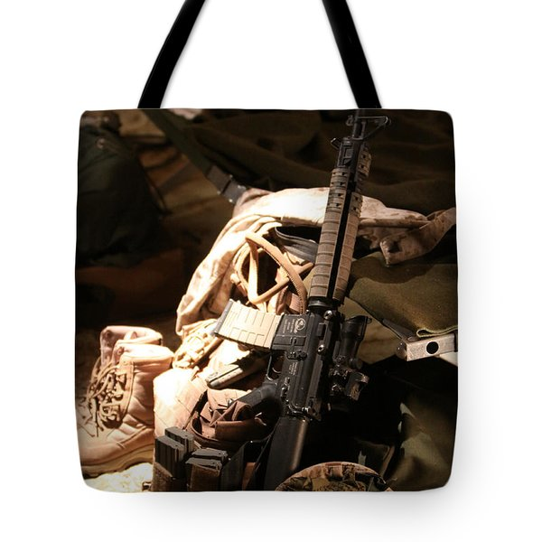 A Soldiers Friends Tote Bag by Shoal Hollingsworth