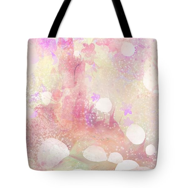 A Sparrow Sings Alone Tote Bag by Rachel Christine Nowicki