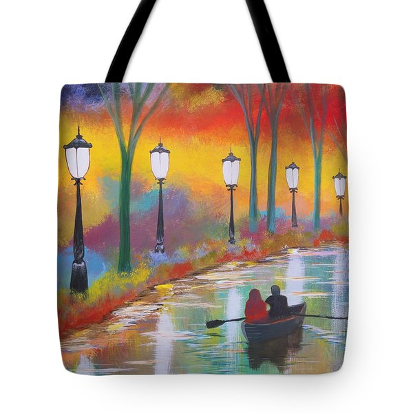 A Special Evening Tote Bag by Chris Fraser