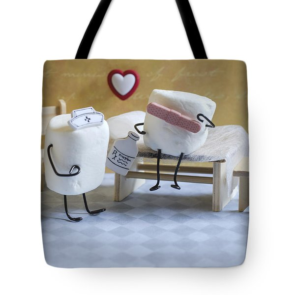 A Spoonful Of Sugar Tote Bag by Heather Applegate
