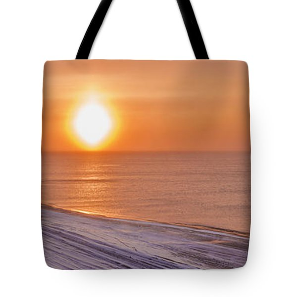 A Sundog Hangs In The Air Over The Tote Bag by Kevin Smith