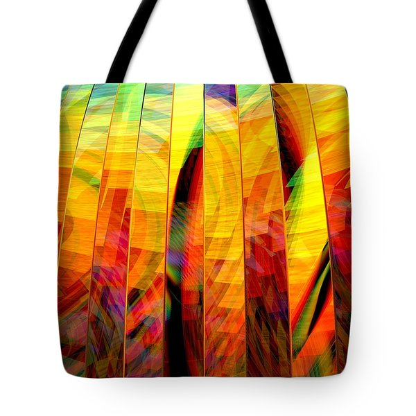 A Sunny Autumn Day Tote Bag by Andreas Thust