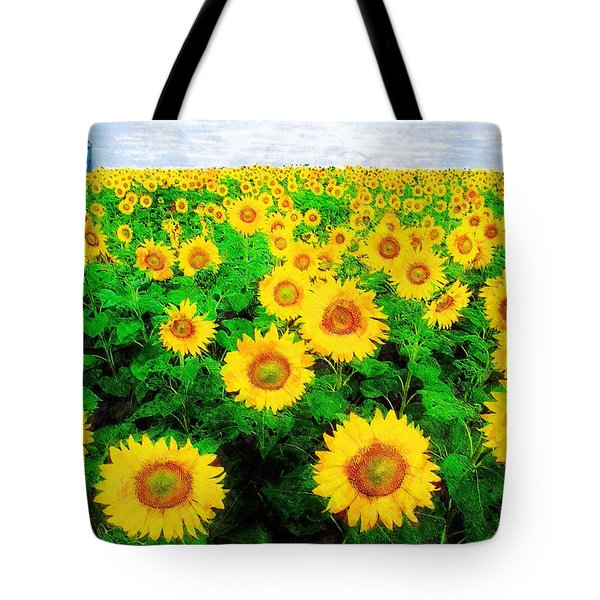 A Sunny Day With Vincent Tote Bag by Sandy MacGowan