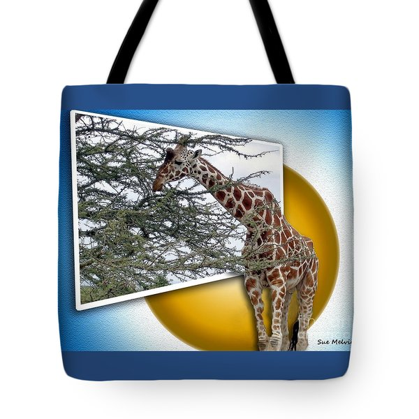 A Taste from the Other Side Tote Bag by Sue Melvin