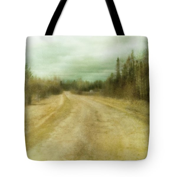 A Textured Pictorialist Photograph Of A Tote Bag by Roberta Murray