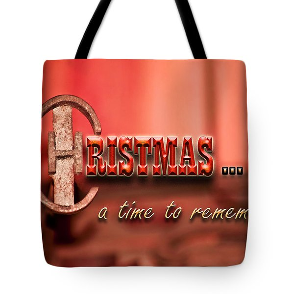 A Time To Remember Tote Bag by Carolyn Marshall
