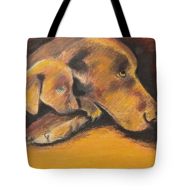 A Time To Rest Tote Bag by Jeanne Fischer