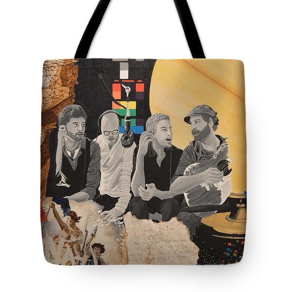 A Tribute Tote Bag by Leah Price
