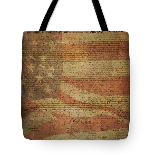 A Tribute To Our Forefathers Tote Bag by HH Photography