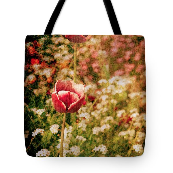 A Tulip's Daydream Tote Bag by Loriental Photography