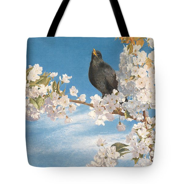 A Voice Of Joy And Gladness Tote Bag by John Samuel Raven