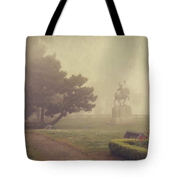 A Walk In The Fog Tote Bag by Laurie Search