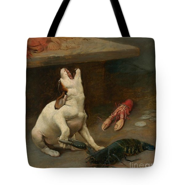 A Warm Response Tote Bag by William Strutt