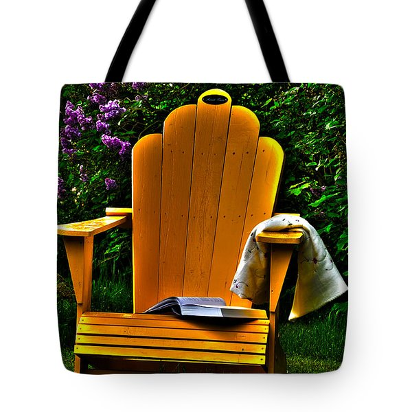 A Well Deserved Rest Tote Bag by Randi Grace Nilsberg