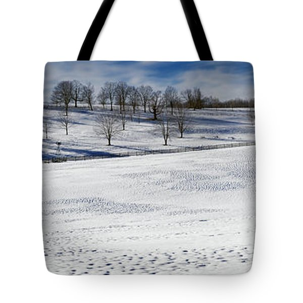 A Winters Day Tote Bag by Bill  Wakeley