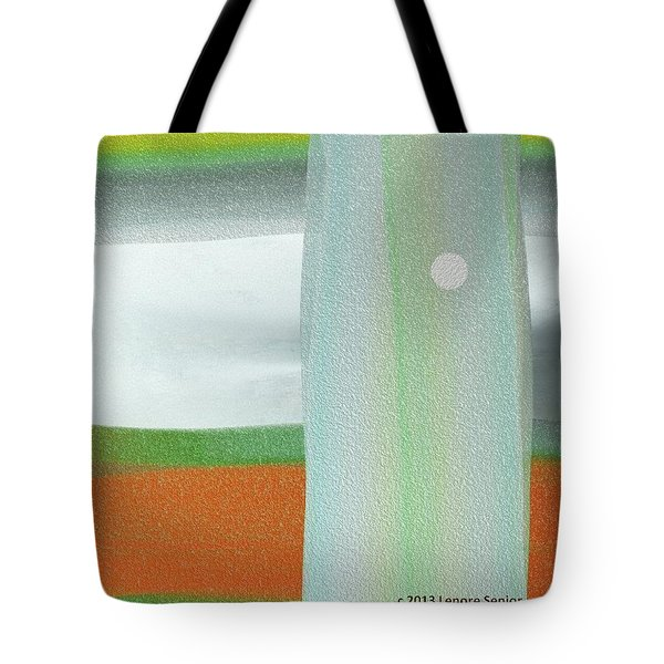 A Winter's Walk Tote Bag by Lenore Senior
