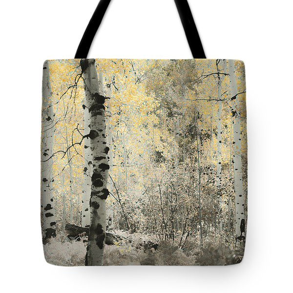 A Wisp Of Gold Tote Bag by Don Schwartz