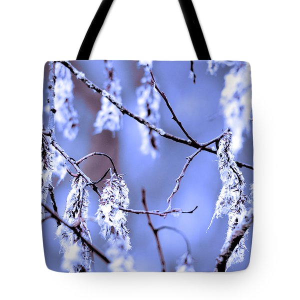 A Withered Branch Tote Bag by Toppart Sweden