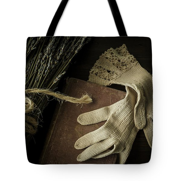 A Woman's Touch Tote Bag by Amy Weiss