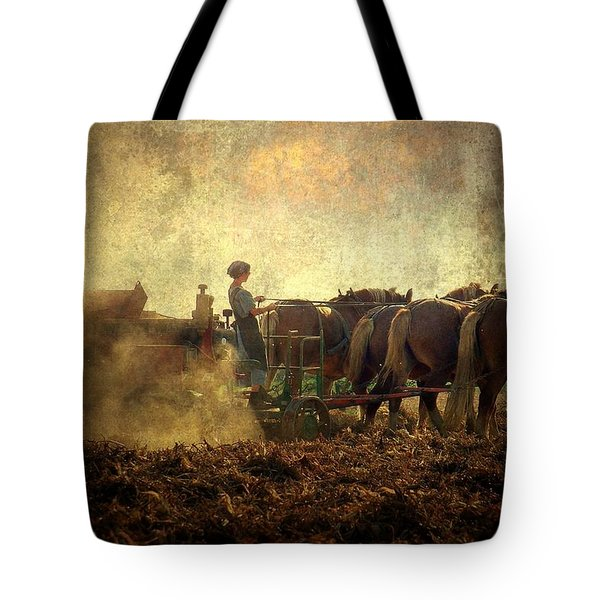 A Woman's Work Is Never Done Tote Bag by Trish Tritz