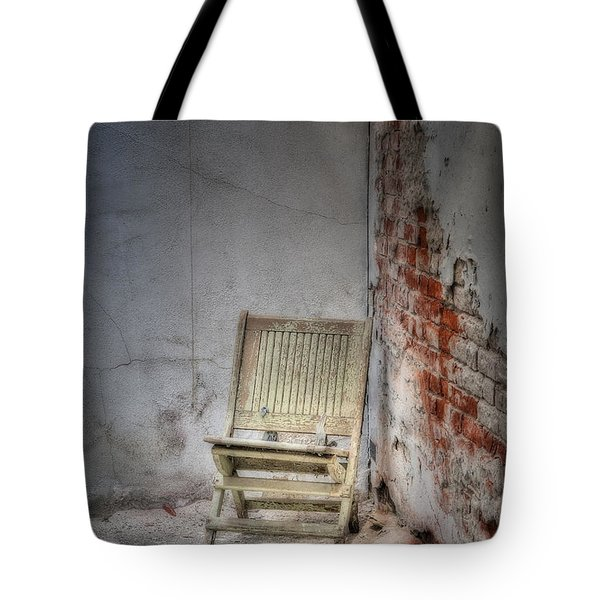 Abandoned But Not Forgotten Tote Bag by Susan Candelario