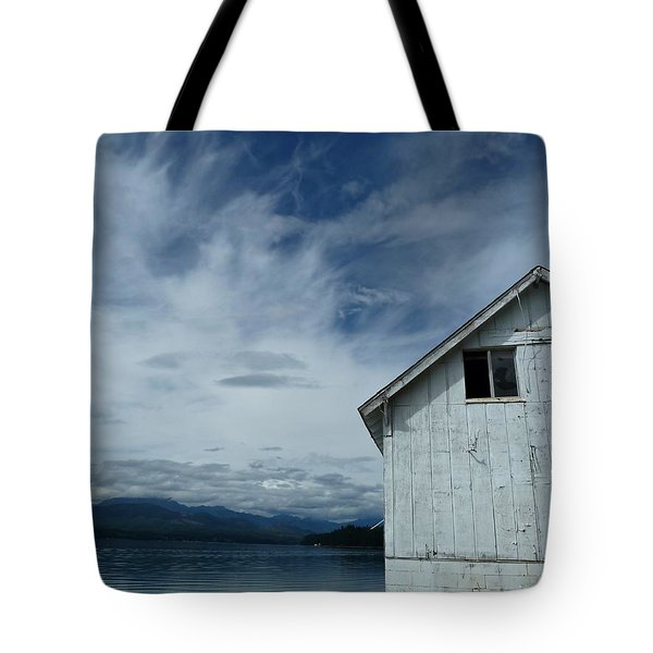 Abandoned by the Water Tote Bag by Patricia Strand