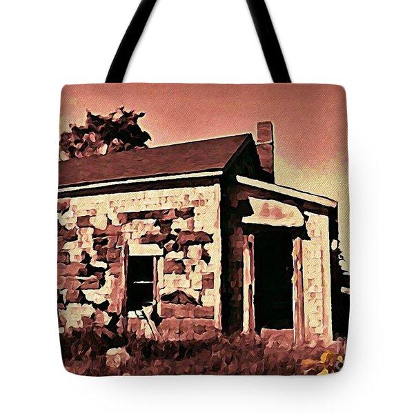 Abandoned Cape Breton House Tote Bag by John Malone