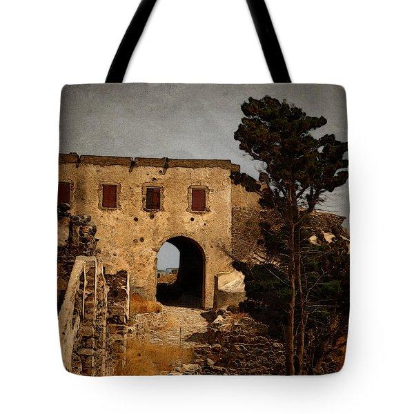 Abandoned Castle Tote Bag by Christo Christov