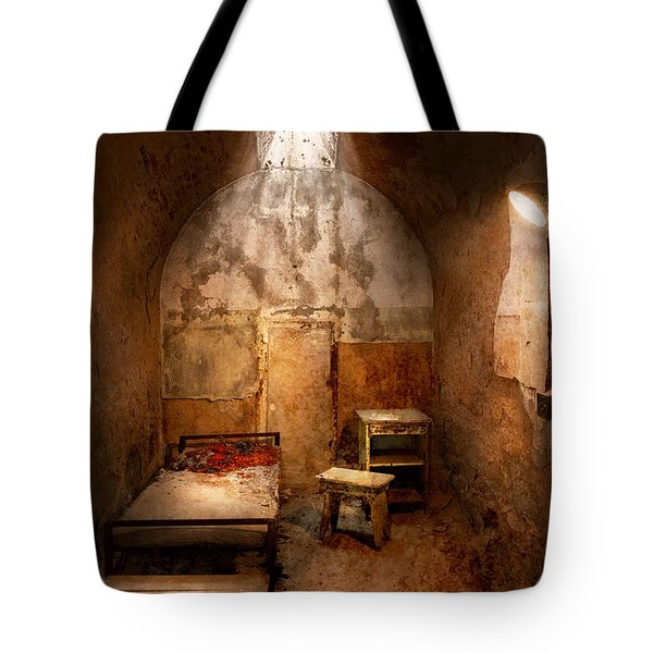 Abandoned - Eastern State Penitentiary - Life sentence Tote Bag by Mike Savad